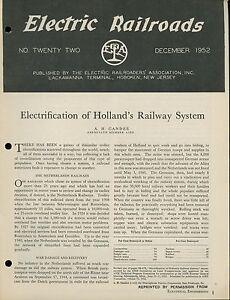 1952-Electric-Railroads-Netherlands-Railways-Holland-Branford-Railway-History