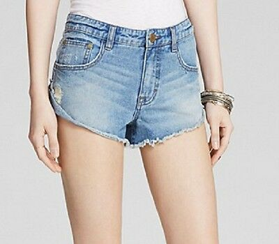 NWT Free People Irreplaceable Cutoff Denim Shorts