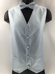 Hanky Men/'s Lavender Vest with Gray Pattern Two Pockets with Matching Tie