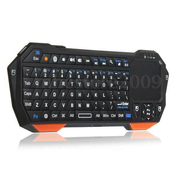 Mini Multi-touch Bluetooth Keyboard With Touchpad Mouse for Android iOS Windows