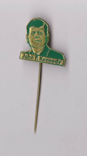 Vintage JFK John F Kennedy pin badge 1960s Political President USA