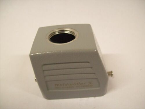 Lot of 2  Weidmuller Connection Plug Housing He Size 3 1652640000