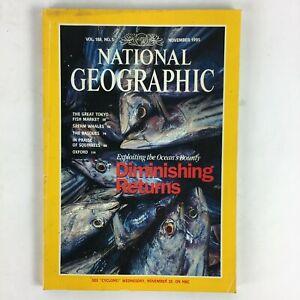 November-1995-National-Geographic-Magazine-Diminishing-Returns-Sperm-Whales