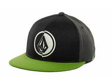Volcom One 80 210 Flex Cap - Black/Green - S/M
