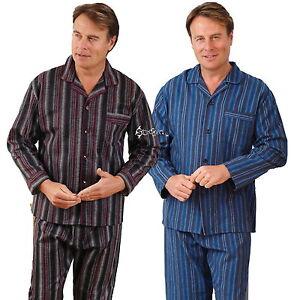 Nachtwäsche Ausdauernd Mens Champion Kingston Brushed Cotton Pyjama Set Sizes S Up To 3xl Winceyette
