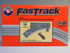 LIONEL FASTRACK 036 REMOTE/COMMAND SWITCH LEFT HAND o gauge train 6-81947 NEW
