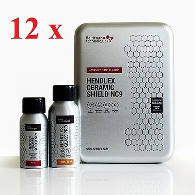 Hendlex Hydrophobic Ceramic Shield Protection And Anti Water Stain Dirt Repel