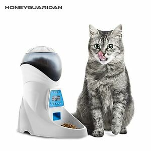 Feeder Automatic With Voice Timer Programmable Cat Dog Small Medium