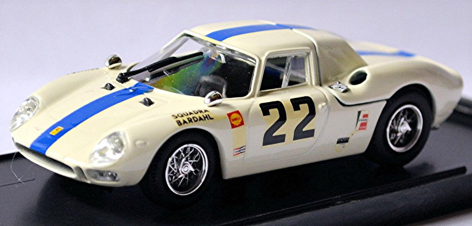 FERRARI 275 LM - MONZA 1966 BIANCO 1 43 MIGLIORI