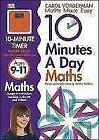 10 Minutes a Day Maths Ages 9-11 von Carol Vorderman (2013, Taschenbuch)