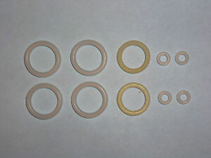 Crosman 400  Two (2) URETHANE O-Ring Seal Kits + Exploded View w/ Guide