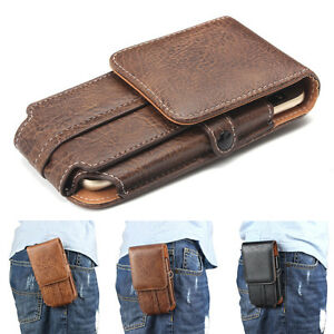 on sale 23ae2 307f7 Details about Multifunction Leather Belt Clip Pouch Holster Case Cover Bag  for iPhone 7 6 Plus