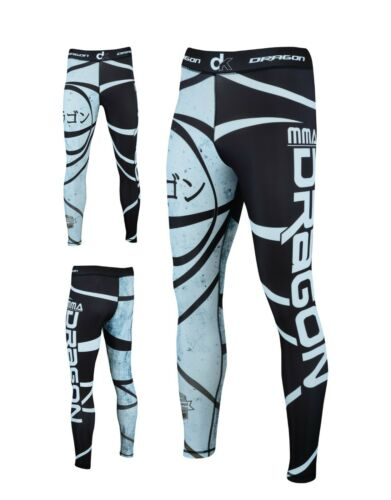 DRAGON BJJ Jiu Jitsu Nogi Fight Wear Set Leggings IBJJF MMA Short BJJ Rash Guard