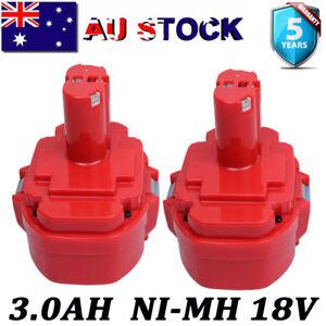 2x-3-0AH-For-Makita-18V-NI-MH-Battery-1822-1823-1833-1834-1835-1835F-PA18-4334D