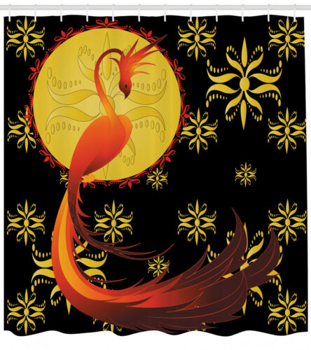 Vögel Duschvorhang Phönix und Narrenmond