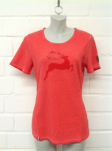 Almgwand Damen T-Shirt Walleralm in Rot  Gr.M-2XL  NEU!!! 9098159-0025