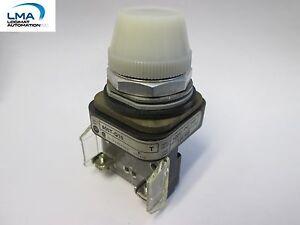 ALLEN-BRADLEY-800T-Q10-WHITE-ILLUMINATED-LIGHT-INDICATOR-120V-NEW