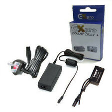 Ex-Pro® ACK-E6 ECKE6 AC Power Adapter & DR-E6 Battery Coupler for Canon EOS 70D