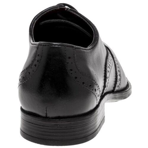 Shoes Brogue Leather Bishop Lotus New Up Mens Black Lace HAwUvxXq