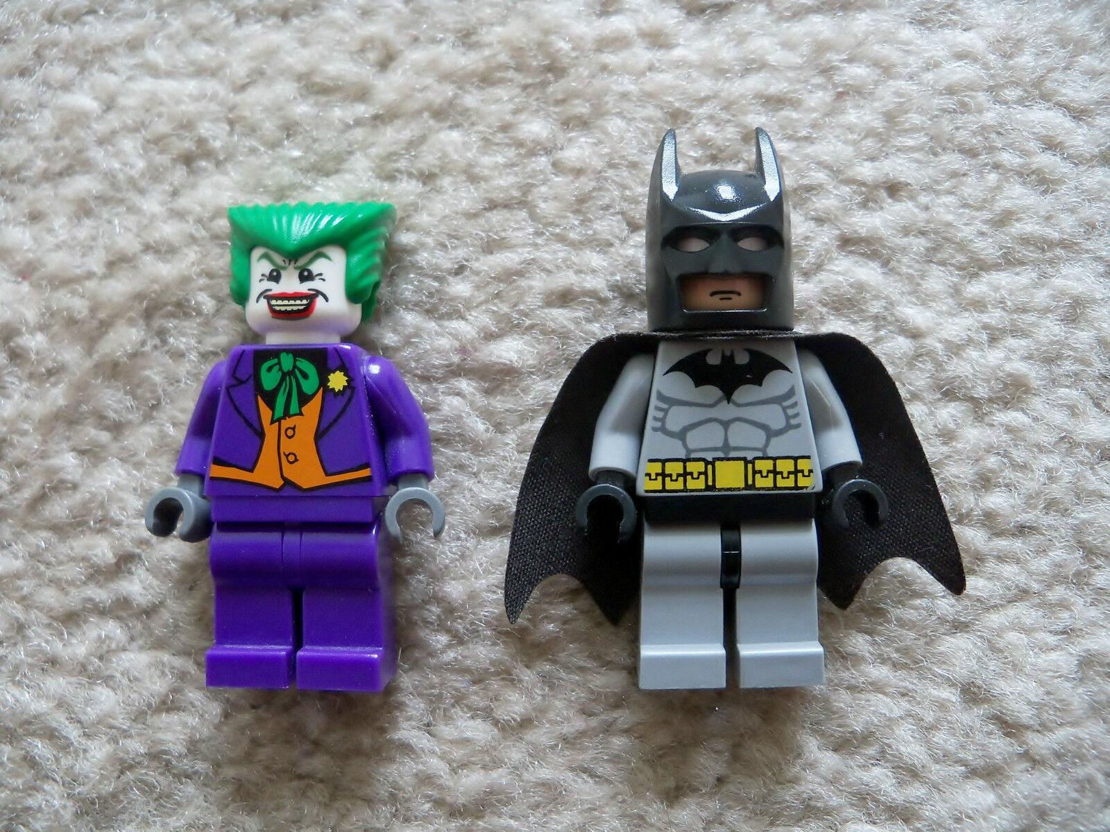 LEGO Batman - - - Super Rare - Joker & Batman Minifigs - Excellent 9d83f3