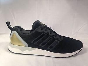 info for 3ba34 f8ab8 Details about Mens Adidas ZX Flux ADV Black/Gold/White AQ4508 Various UK  Sizes