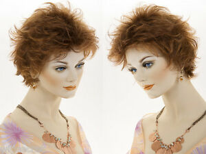 Short-Wavy-Straight-Blonde-Brunette-Red-by-Wig-Pro-Light-Weight-Open-Cap