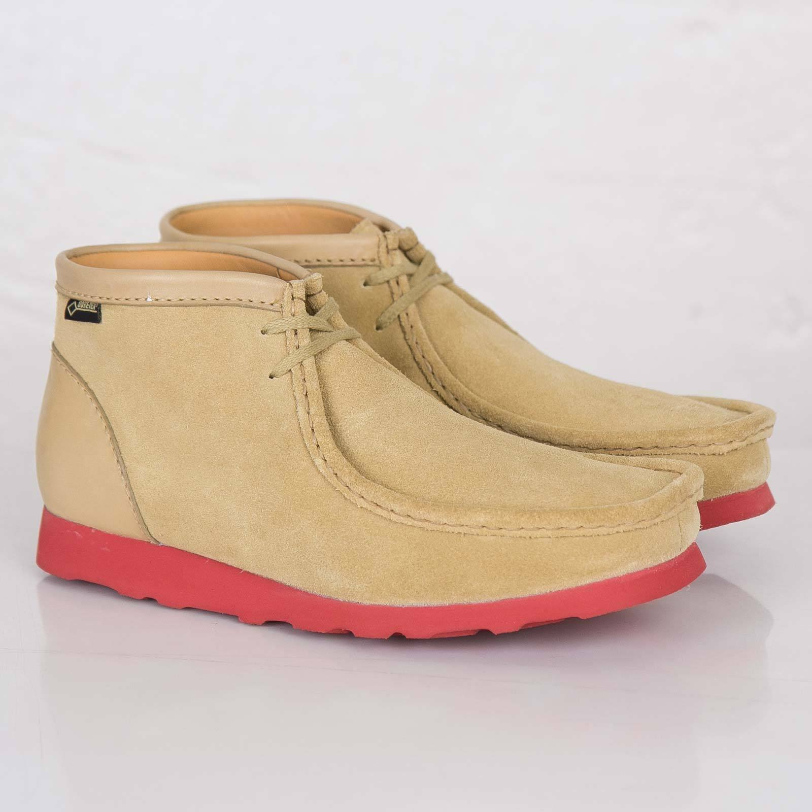 Clarks Originals ** Wallabees X GTX ** Maple CAMOSCIO **