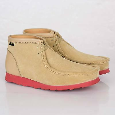 Clarks Originals Mans ** WALLABEES GTX ** Maple daim ** UK 6,6 .5, 7,7 .5 G | eBay