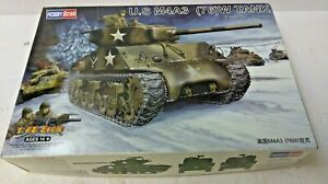 Hobby-Boss-US-M4A3-76-W-Tank-Plastic-Model-Kit-1-48-Scale