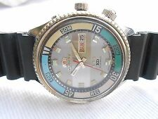 USED VTG SS 42MM JAPAN MADE ORIENT KD KING DIVERS MENS AUTOMATIC WRISTWATCH