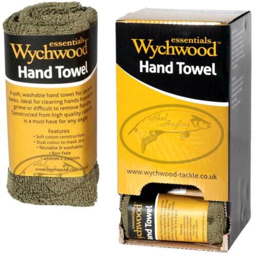 Wychwood Spécimen Serviette à main Carpe grossier jeu de pêche camping randonnée outdoor