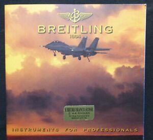 CATALOGUE BREITLING OCTOBRE 1997 INSTRUMENTS FOR PROFESSIONALS VERSION FRANCAISE