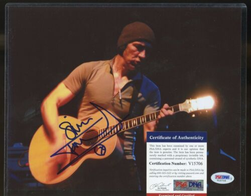 Simon Townshend Signed 8x10 Photo PSA//DNA COA AUTO Autograph  Stock Photo