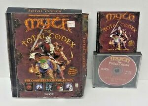 Myth: The Total Codex - Bungie CD-ROM Game Windows PC Big Box Complete Working