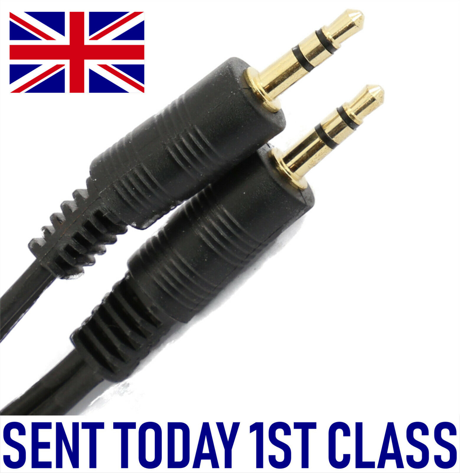 3.5mm Stereo Jack to Jack cable 20m AUX Lead