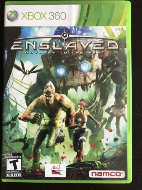 Enslaved Odyssey To The West Microsoft Xbox 360 Complete CIB Canadian Seller