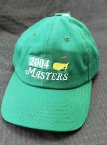 Masters-Augusta-Golf-Tournament-2004-Embroidered-Strapback-Cap-American-Needle