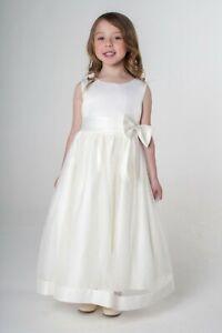 Mädchen Festkleid Kommunionkleid Hochzeit Blumenmädchen ...