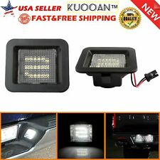 For 2015 2018 Ford F150 Led Smoke License Plate Light Bulb Assembly Rear Lamps