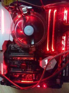 Computer-Cryptocurrency-Mining-Sleeper-Rig-SLI-Crossfire-Intel-4GB-No-Gpus-Win10