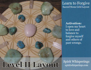 LEARN-TO-FORGIVE-Crystal-Grid-Card-4x5inch-Heavy-Card-Stock-Flower-of-Life