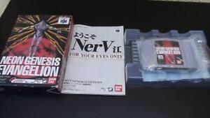 Neon-Genesis-Evangelion-Nintendo-64-N64-Bandai-Nintendo-64-N64-From-Japan-F-S