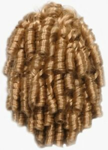 10 Quot Small Spiral Corkscrew Curls Curly Hair Ponytail