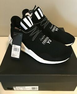Adidas Y-3 Saikou Black/White - Men's Size 10 - Brand New w/ Original Box