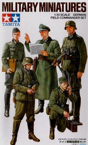 Tamiya 1//35 WWII German Field Commander Set # 35298
