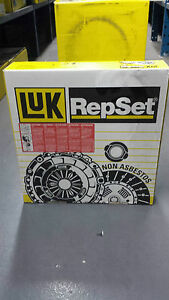 NEW-LUK-CLUTCH-KIT-618302800-FITS-FIAT-PANDA-PUNTO-1-1-1-2