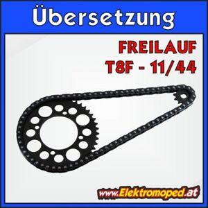 Onderdelen-elektrische-Scooters-11-44-T8F-Complete-transmission-with-freewheel