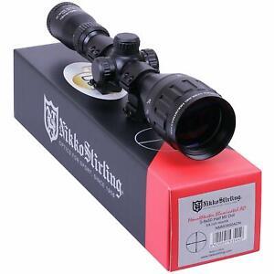 Nikko-MOUNTMASTER-3-9x50-PX-AO-IR-Parallax-Rifle-SCOPE-Sight-amp-9-11mm-MOUNTS