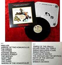 LP Il Viaggio Fantastico di Sinbad - Miklos Rozsa (United Artists UAS 29576) I