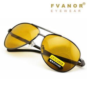 bc235a071ee Day Night Vision Men s Polarized Sunglasses Driving pilot Mirror Sun ...